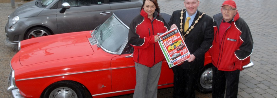 Lisburn Mayor gets revved up for All Ireland Italian Motor Event