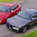 Alfa 159 vs Giulia