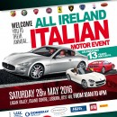 A date for your diary – Italian Motor Event back in Lisburn on 28 May.