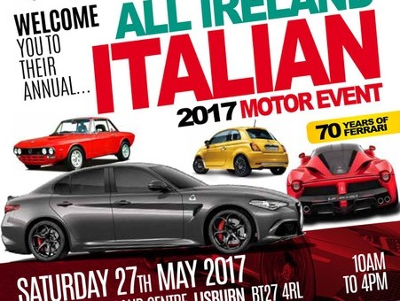 Countdown to our annual show begins!    27th May 2017