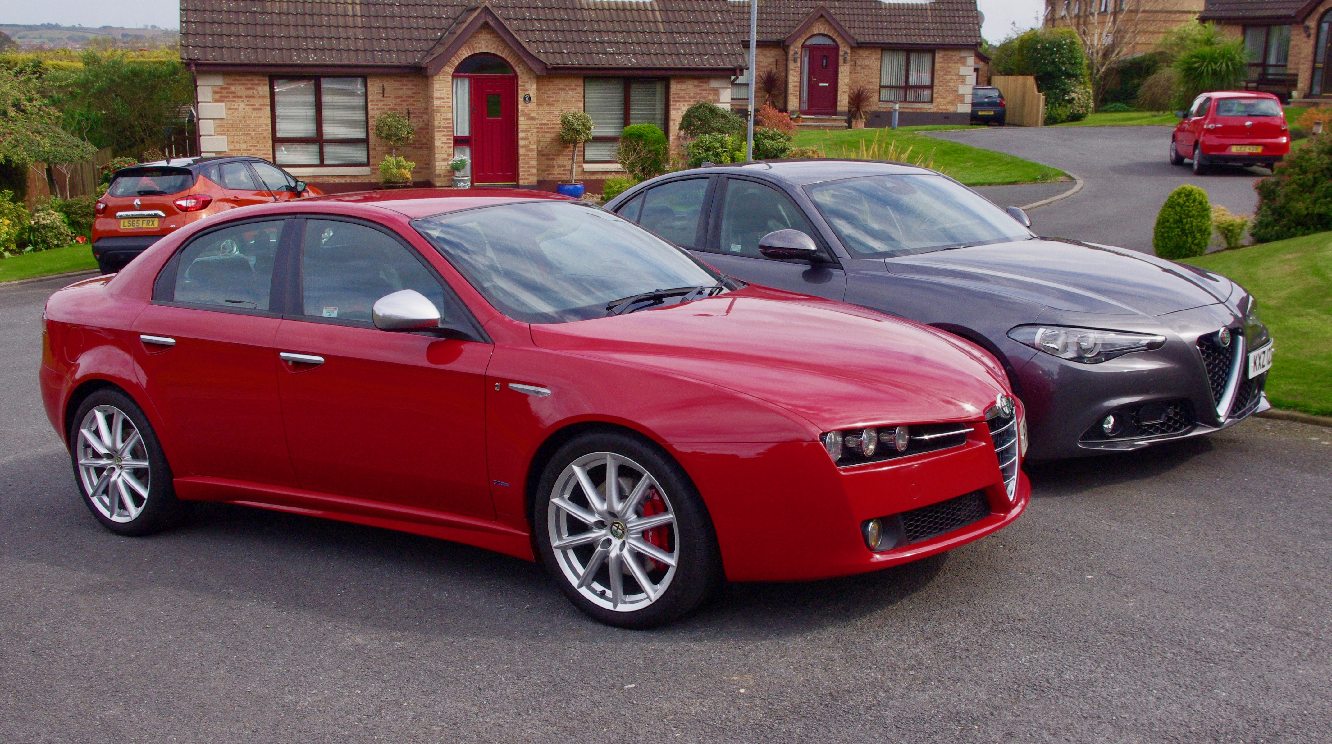 alfa 159 vs giulia northern ireland italian motor club. Black Bedroom Furniture Sets. Home Design Ideas