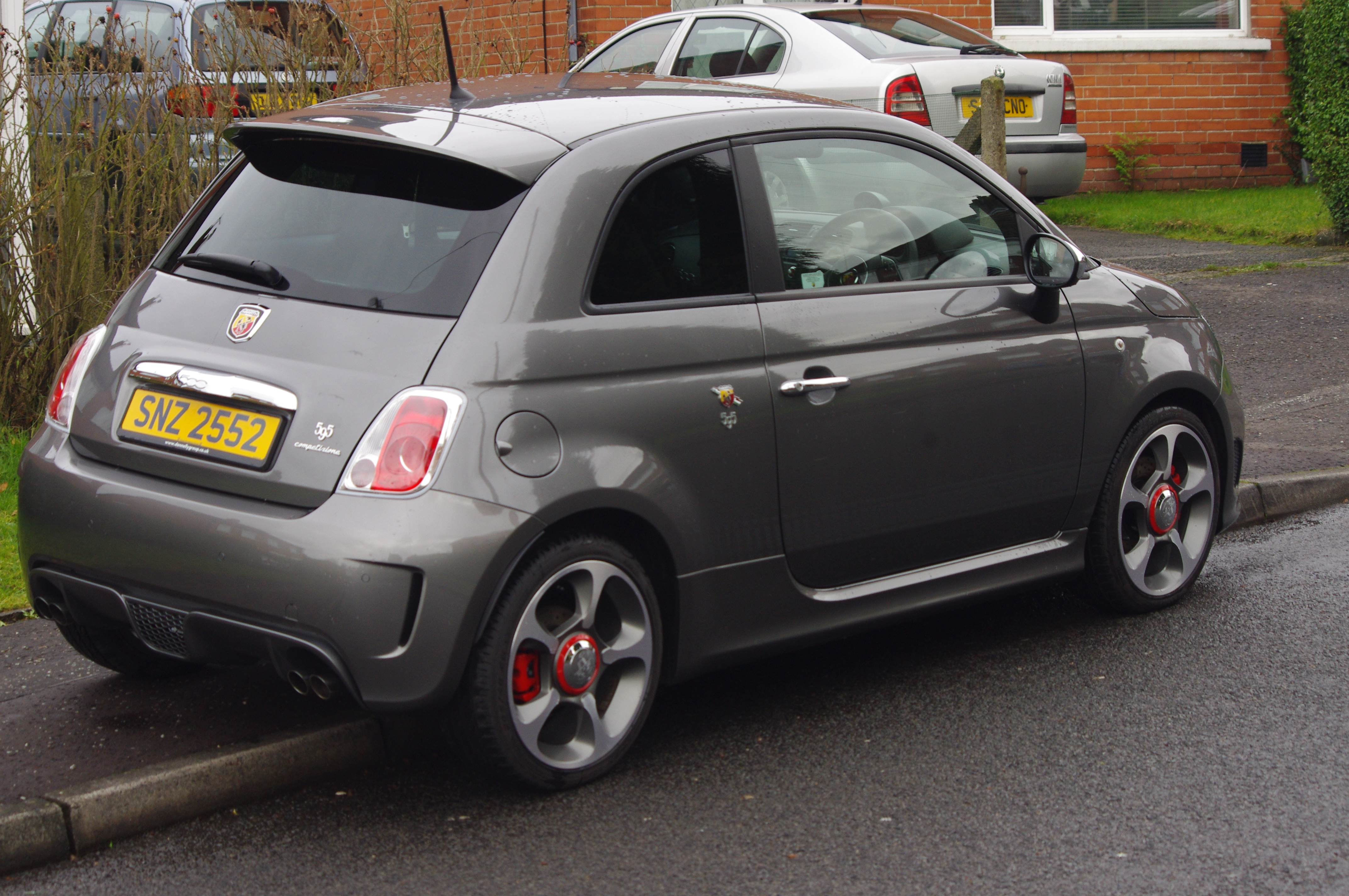 Abarth 595 Competitizione Member S Car Review Northern